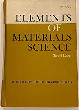Hardcover Elements of Material Science, an Introductory Text for Engineering Students, 2nd Edition, Book