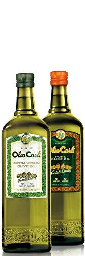 Olio Carli Oils Duo. Six 3/4 Liter (25 oz.) bottles of Extra Virgin...