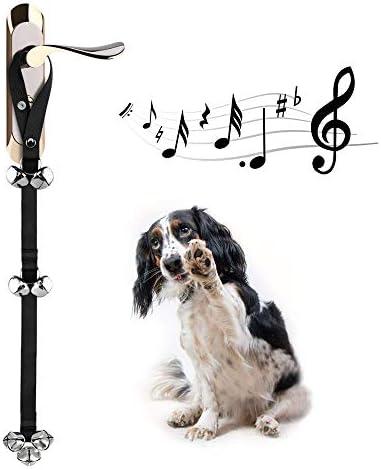 CATHYLIFE Dog Doorbells for Potty Training Door Knob Go Outside Premium Quality Dog Bells 7 product image