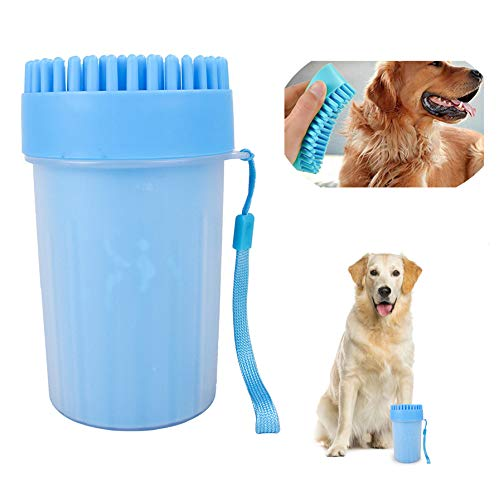 GEEPET Pet Dog Trust Foot Cleaning Cup Washing quality assurance Tool Brush Wa Clean Paw
