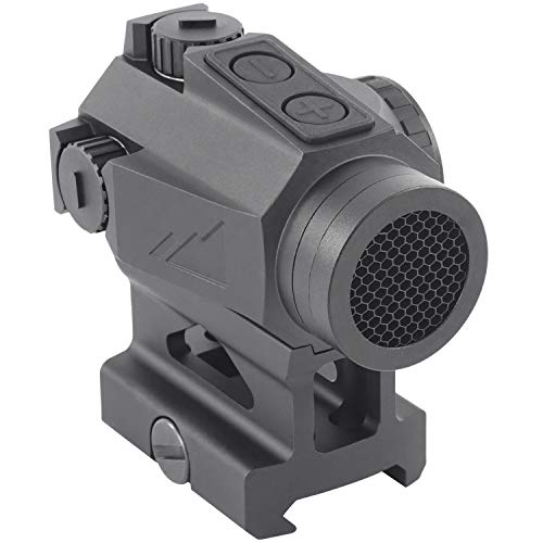 Ronin P-12 Red Dot Sight 1x20mm 2 MOA Gun Sight Rifle Scope w/ Absolute Co-Witness Riser (Absolute Co-Witness)