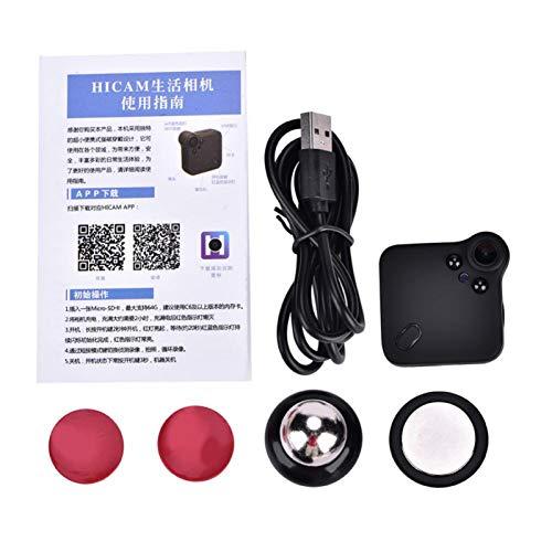 La conexión WiFi admite grabación en Bucle Mini cámara La cámara Deportiva adopta un Sensor Premium, Tanto para Uso en Interiores como en Exteriores