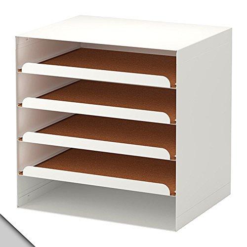IKEA - KVISSLE Letter tray, white