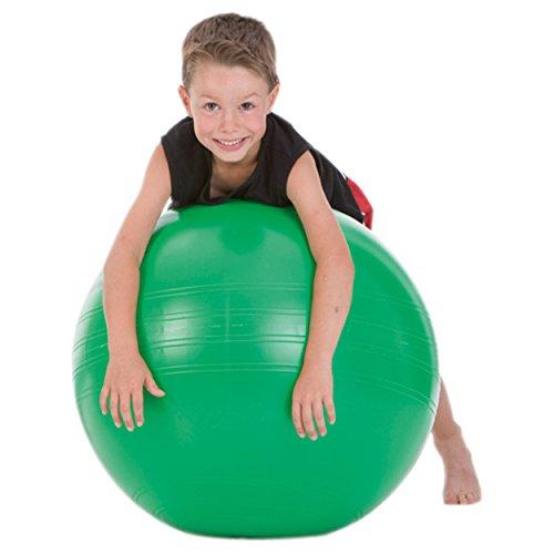 TOGU Gymnastikball Powerball ABS Sitzball Büroball Fitnessball 45 cm GRÜN