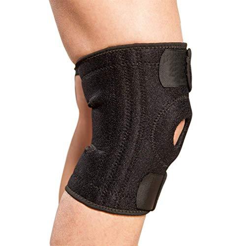 Kniebandage Verstellbar Knieschoner Volleyball Patella Bandage rutschfest Knie Unisex Knieschützer für Laufen, Wandern, Joggen, Sport