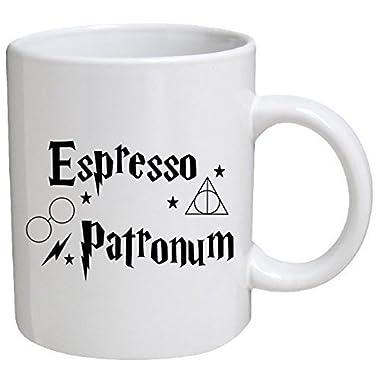 Funny Mug - Espresso patronum - 11 OZ Coffee Mugs - Funny Inspirational and sarcasm - By A Mug To Keep TM