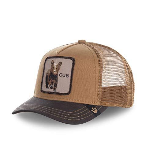"""Goorin Bros. Gorra de béisbol, con """"Cub"""", Beis marrón Talla única"""