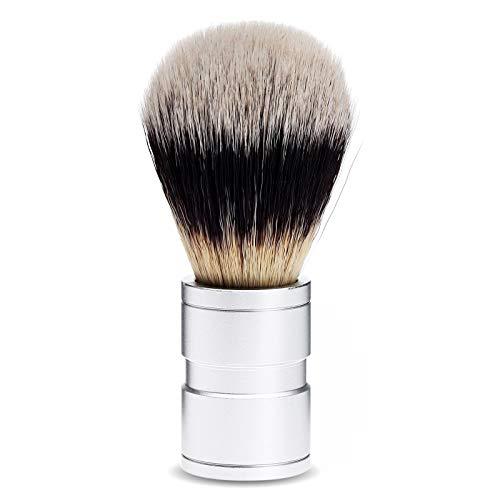 Dophee ひげブラシ シェービング ブラシ 洗顔ブラシ 高級感 メンズ プレゼント 理容 洗顔 髭剃り 泡立ち ナイロン 1個