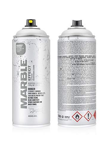 415364 Montana Marmor-Effekt, Weiß, 400 ml (EM9100)