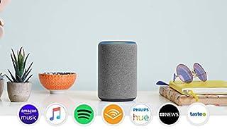 All-new Echo (3rd Gen) - Smart speaker with Alexa - Heather Grey Fabric (B07P64MXZH)   Amazon price tracker / tracking, Amazon price history charts, Amazon price watches, Amazon price drop alerts
