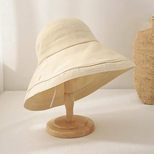 LYUHFGB Fischer-Hut, die Frauen-Sommer-Strand-Hut Anti-UV-Schutz Sonnenhut Sommer-Strand-Outdoor-Hut Ultra-Leicht Auswärts,C