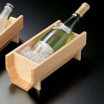 Yamako 12334 - Refrigeratore per vino in legno bianco dal Giappone