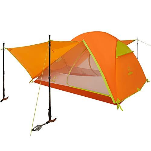 ATEPA Camping Zelt 1-3 Personen 2 Mann...