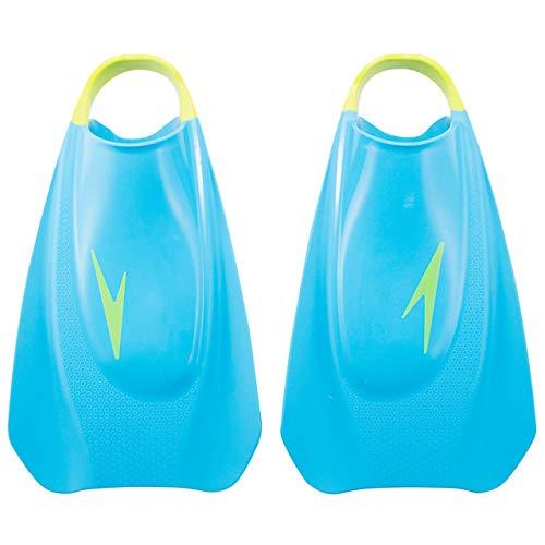 Speedo(スピード) トレーニング用品 練習 フライトレーニング フィン プール 水泳 SE41952 ブルー×グリーン BG M