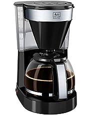 Melitta Easy İı Top 1023-04 Filtre Kahve Makinesi, 1.25 Litre, 1000 W, Paslanmaz Çelik, Siyah