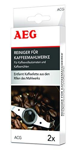 AEG ACG DE Mahlwerkreiniger, 2 Reinigungen für Kaffeevollautomaten und Kaffeemühlen
