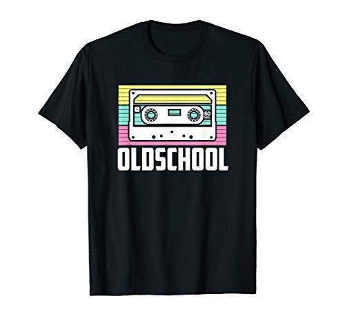 Retro Oldschool Kassette 80er 90er Jahre T-Shirt