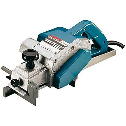 Makita 1100 1100-Cepillo 950W 16000 RPM 5.1 kg Ancho 82 mm Corte 0-3 mm, 950 W, 110 V, 82mm