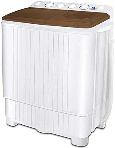 FDGSD Lavatrice da Campeggio, Lavatrice Portatile, Lavatrice a Due vasche 13 kg di capacità Totale Lavatrice e asciugatrice per Appartamenti casa Piccola Cucina 8 kg Lavatrice 5 kg Asciugatura, ma