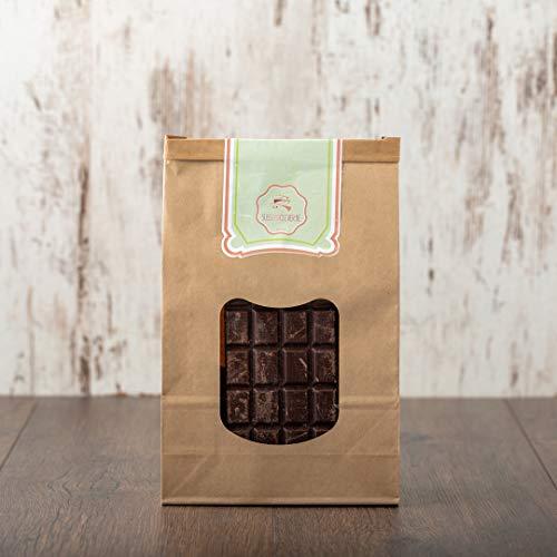 süssundclever.de® Bio Schokolade | 85% Kakao | vegan | 900g | Schokoladenbruch | plastikfrei und ökologisch-nachhaltig abgepackt