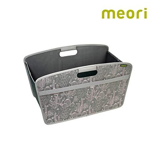 Faltbare Homebox Kaktus/Druck 54x30x32cm stabil abwischbar Polyester Wohntrend Sammelkorb Zeitung Strickzeug Wäsche Bücherkiste