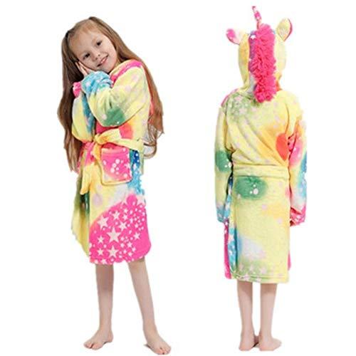 Kinder-Bademantel Kapuzen-Bademantel Kinder-Nachtwäsche Pyjamas Kinder-Bademäntel...