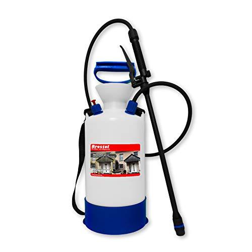 Pulverizador a presión resistente a ácidos, 6 litros, ideal para eliminar algas, líquenes, musgo, hongos, etc.