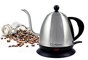 Elementi Premier Electric Gooseneck Kettle for Pour Over Coffee and Tea