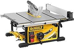 DeWALT DWE7492-QS Ligne de table 250 mm, noir/jaune