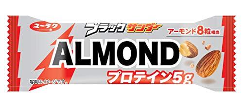 有楽製菓 ブラックサンダーALMOND 1本 ×9袋