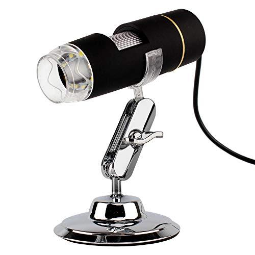 S2 USB 8 LED 1X- 500X Digitalmikroskop-Endoskop-Lupe-Video- Kamera echt 0. 3MP/ 1. 3MP/ 2MP (Color : 2.0M Pixel)