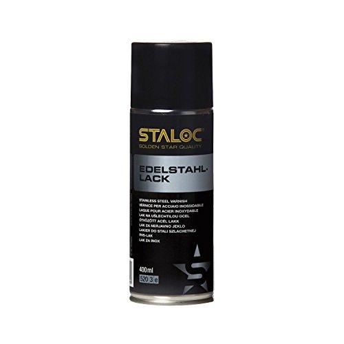 STALOC Edelstahl-Lack | für Ausbesserungen auf Edelstahl-Oberflächen | 400 ml