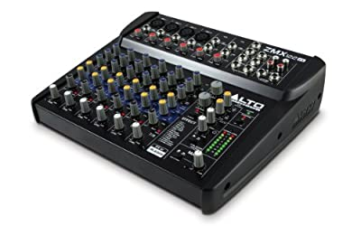 ALTO Professional ZMX122FX | Professional 8-Channel Compact Mixer with Effects