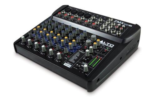 ALTO Professional ZMX122FX - Mezclador compacto de 8 canales con...