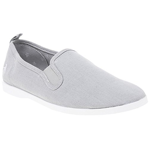 Original Penguins Norris, Alpargatas para Hombre, Gris (Grey Canvas 841), 46 EU