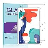 Janmitta für Huawei MatePad 10.4 Panzerglas Schutzfolie [2-Stück], 2.5D Panzerfolie 9H Gehärtetem Glass [Anti-Kratzen][Anti-Bläschen] HD Bildschirmschutzfolie mit Huawei MatePad 10.4