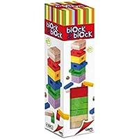Cayro - Torre de Madera Block & Block Colores - Juego de observación y lógica - Juego de Mesa - Desarrollo de Habilidades cognitivas e inteligencias múltiples - Juego de Mesa (859)