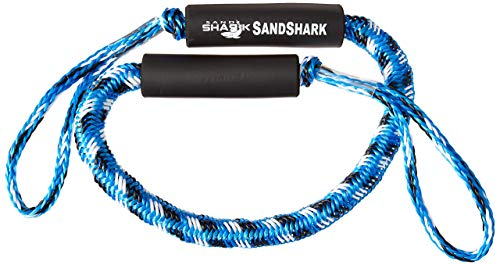 Premium Bungee Dock and Anchor Line Stretches 4-5.5 ft in Blue or Black. Absorbs Shock to Cleats, Docks, and Anchors. Reduces Pull for Your Boat, Pontoon, PWC, Jet Ski, Kayak. (Blue 4-55)