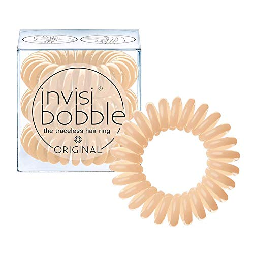 Invisibobble Original Haargummis, to be or nude to be, 1er Pack, (1x 3 Stück)