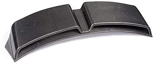 Alerón trasero de fibra de carbono para coche, modelado decorativo, para Audi A1 2 puertas Hatchback 2010 2011 2012 2013 2014 Tapa del maletero trasero Tapa del maletero Alerón trasero Labios ajustab