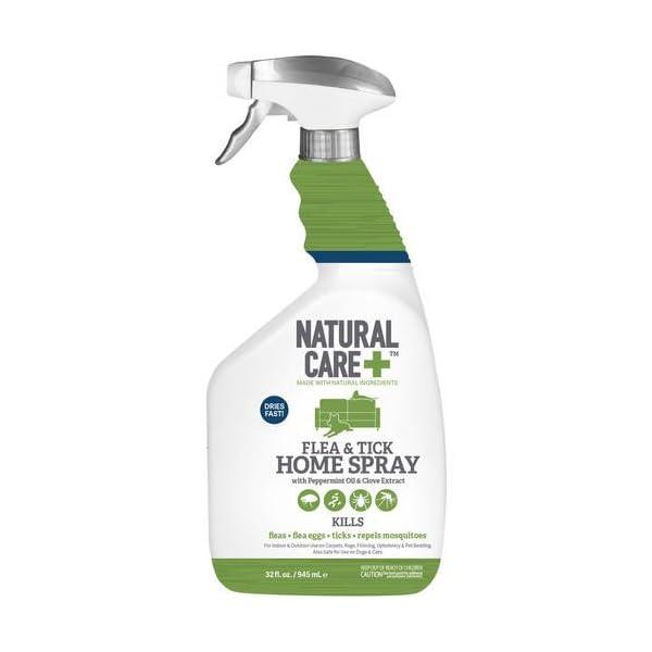 Natural Care Flea and Tick Home Spray, 32 oz