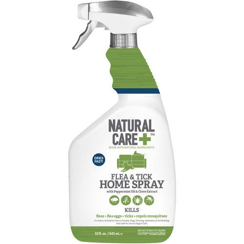 Natural Care Flea and Tick Home Spray, 32 oz