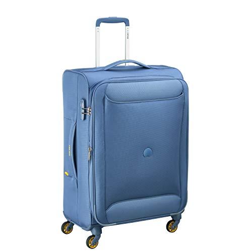 Delsey Paris CHATREUSE Equipaje de Mano, 68 cm, 80 Liters, Azul (Blau)