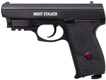 Crosman PFM520 Night Stalker CO2-Powered Air Pistol With Built-In Red Laser Sight  Class II <1 mW ,Black