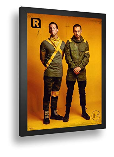 Quadro Decorativo Poster Twenty One Pilots Tyler Nick
