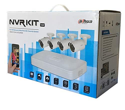 Dahua Kit IP NVR 8CH + 4 TELECAMERE + HD1TB