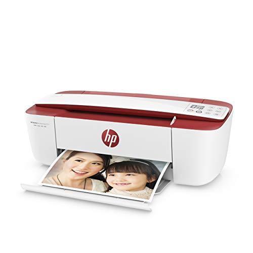 HP DeskJet 3764 T8X27B, Impresora Multifunción A4, Imprime, Escanea y Copia, Wi-Fi, USB 2.0, HP Smart App, Incluye 4 Meses del Servicio Instant Ink, Roja