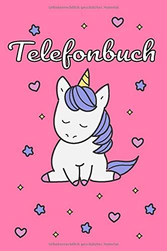 Telefonbuch: I Pferd Muster I Kontaktbuch I Adressbuch I Name I Adresse I Telefon I Mobil I E-Mail I Geburtstag I Freunde I Kollegen I 120 Seiten I Geschenkidee I Softcover I Größe ca. A5 (6x9)