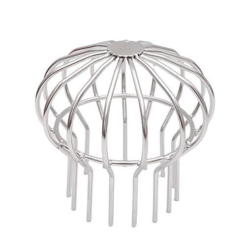 ZSooner - Rete di scarico per pavimento, strumento per la pulizia del cappello, anti ancoraggio, filtro per installazione esterno in acciaio inox e filtro solido per terrazza (tipo 110)