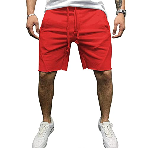 Pantaloncini Sportivi, Pantaloncini da Uomo Asciugatura Rapida Pantaloncini Palestra con Tasca...